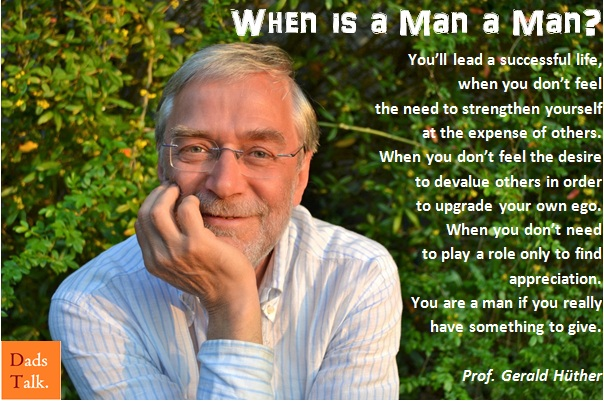 When is a Man a Man