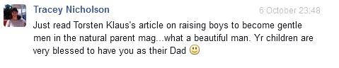 facebook testimonial 1